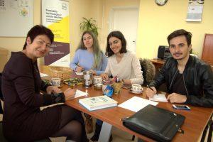 """Netradicinė paskaita """"Erasmus+"""" studentams iš Turkijos"""