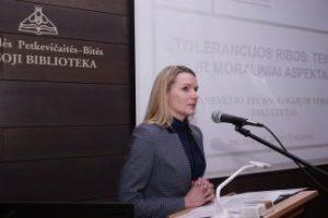 """KTU PTVF dėstytoja J. Baltušnikienė: """"Tolerancija nėra pasyvi pozicija"""""""