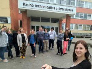 Panevėžio technologijų ir verslo fakultete paminėta Europos kaimynų diena