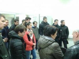 """KTU Panevėžio technologijų ir verslo fakulteto studentai lankėsi UAB """"Panevėžio Auridoje"""""""