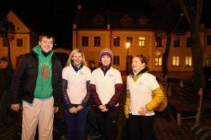 KTU Panevėžio technologijų ir verslo fakulteto  studentai prisidėjo prie bėgimo už blaivybę Kėdainiuose