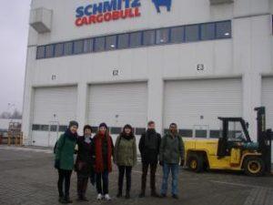 Kauno technologijos universiteto ERASMUS mainų programos studentams netradicinė paskaita Panevėžio gamybos įmonėje