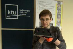 KTU studentui robotų entuziastui – nacionalinis kelialapis į Japoniją