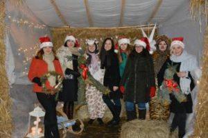 Antrus metus iš eilės Panevėžiečius džiugino Kalėdų senelio kiemelis