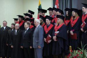 KTU Panevėžio technologijų ir verslo fakultete išleista antroji statybos studijų programos magistrantų laida