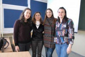 Profesorė iš Turkijos supažindino su psichologinio smurto darbe apraiškomis ir įveikimo būdais