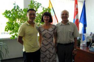 Fakultete lankėsi Singapūro Nacionalinio universiteto docentas Harn Wei Kua