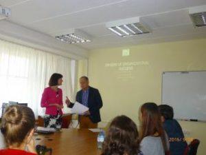 Vengrijoje netikėtai susitiko KTU PTVF dėstytojos ir studentė