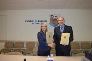 Užmegzti bendradarbiavimo ryšiai su Ukmergės rajono savivaldybe