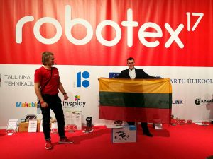 Panevėžio robotistai pateko į stipriausių penketuką Europoje