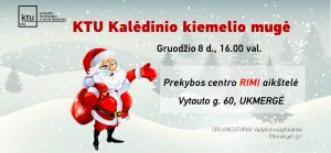 KTU Kalėdinio kiemelio virusas jau ir Ukmergėje