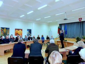 Pirmasis oficialus KTU rektoriaus vizitas Panevėžyje