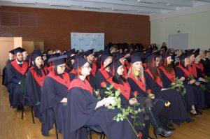 KTU Panevėžio technologijų ir verslo fakultete išdalinti diplomai