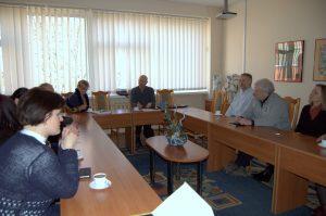 KTU Panevėžio technologijų ir verslo fakultete svečiuojasi kapelionas Kęstutis Brilius