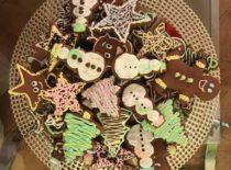 Rankų darbo kalėdiniai sausainiai