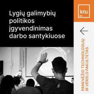 Paskaita_Lygių galimybių politikos įgyvendinimas darbo santykiuose