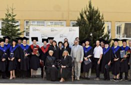 KTU Panevėžio technologijų ir verslo fakulteto 55-osios laidos absolventams įteikti diplomai