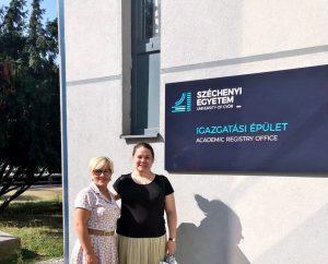PTVF Dekanė prof. dr. Daiva Žostautienė sėkmingai tęsia bendradarbiavimą su Vengrijos universitetu